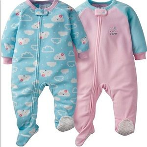 Getber 2 pc footed sleeper 24 months